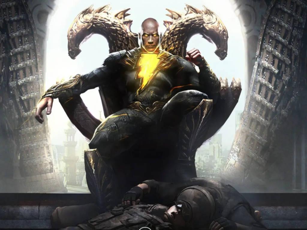 Dwayne Johnson to play the titular anti-hero Black Adam