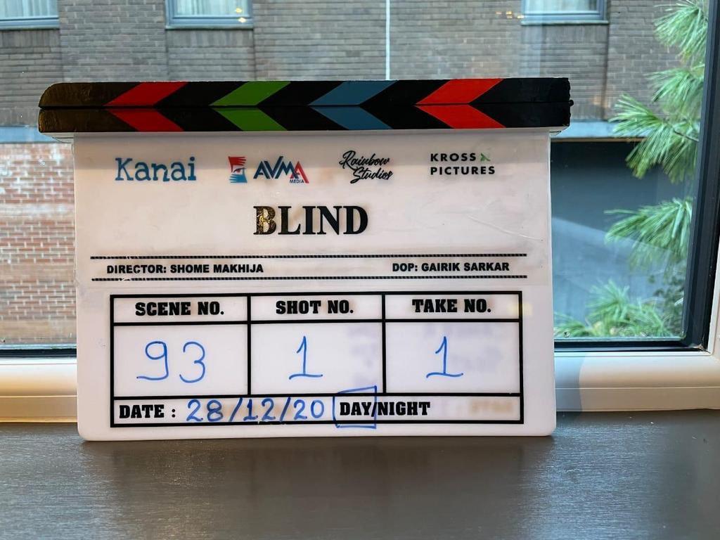 """South Korean thriller """"Blind"""" gets a remake"""