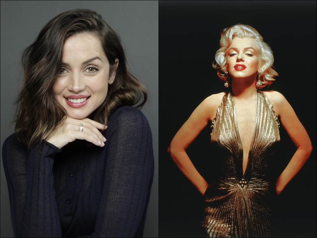 Ana transforms to be the blonde bombshell