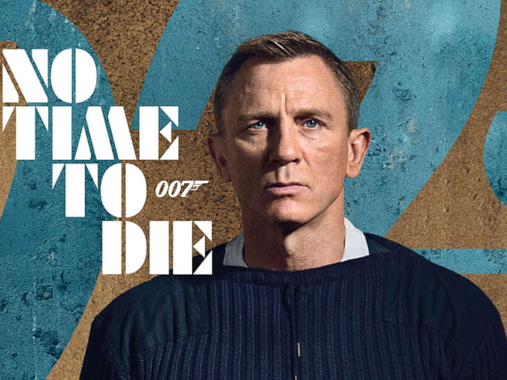 """""""No Time To Die"""" is Daniel Craig's fifth and last Bond film"""
