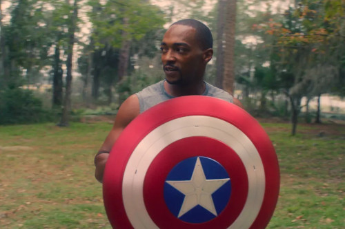 Sam Wilson was previously given the vibranium shield in 'Avengers: Endgame'