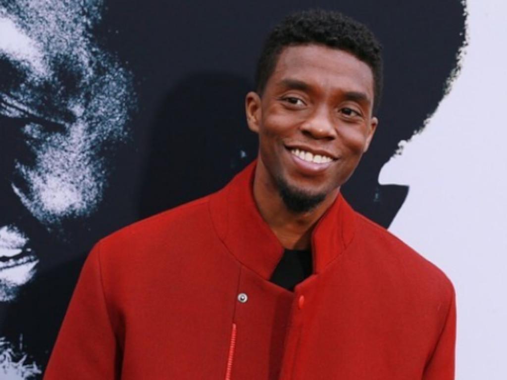 Chadwick Boseman wins Golden Globes award