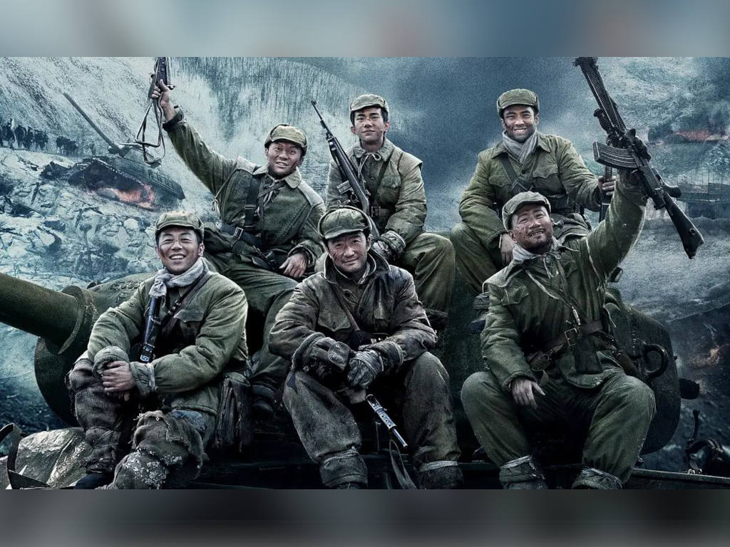 The Chinese war film is directed by the three greats - Chen Kaige, Tsui Hark and Dante Lam