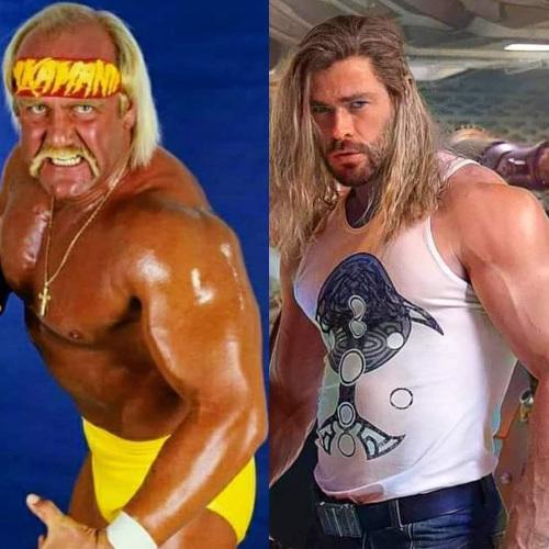 Will Hemsworth achieve his full Hulkamania transformation? We're excited!