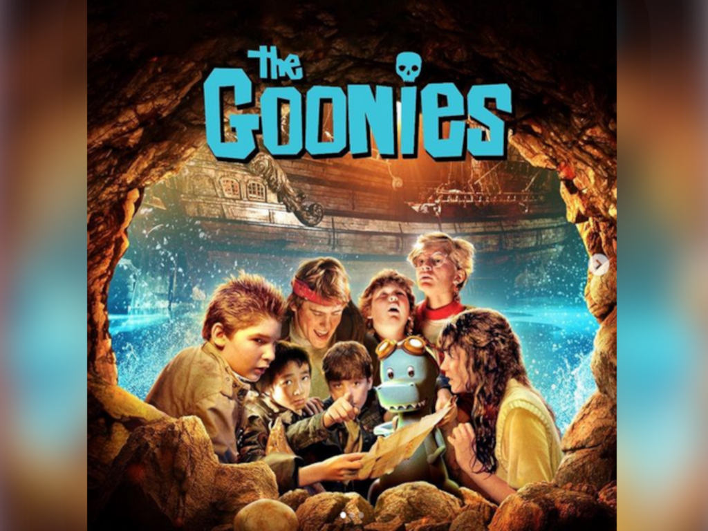 """""""The Goonies"""" theme song was sung by Cyndi Lauper"""