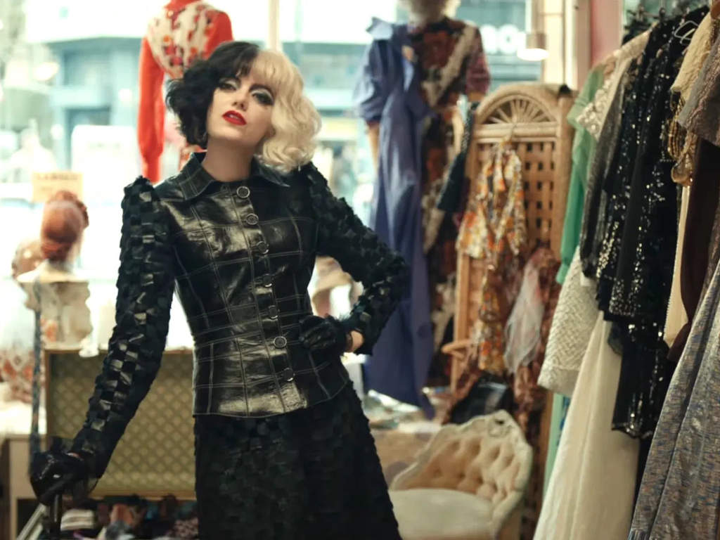 Cruella should be a style icon in her own right