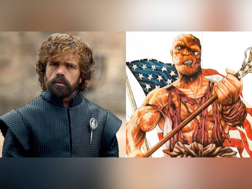 Peter Dinklage will lose his good looks when he is pushed into a vat of toxic waste and becomes the Toxic Avenger.