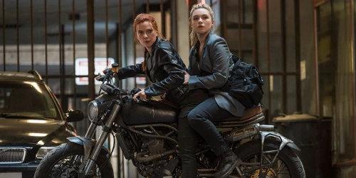 Johansson's Natasha and Pugh's Yelena in 'Black Widow