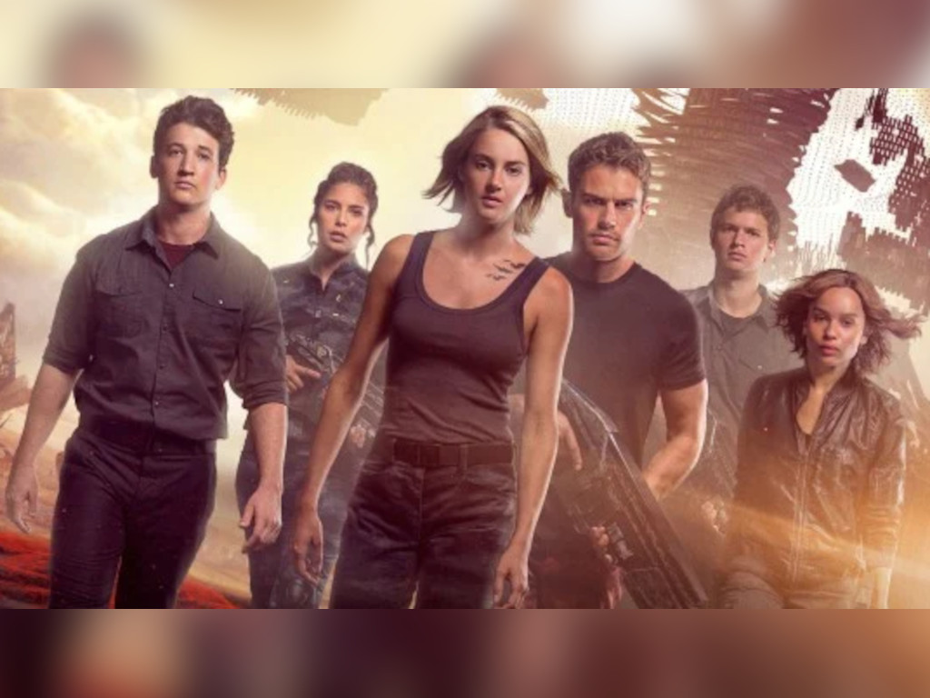 The 'Divergent' movie series was supposed to be a four-part movie franchise.