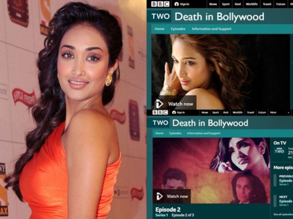 """Kisah Jiah Khan dalam """"Death in Bollywood"""" mendapat perhatian media antarabangsa."""
