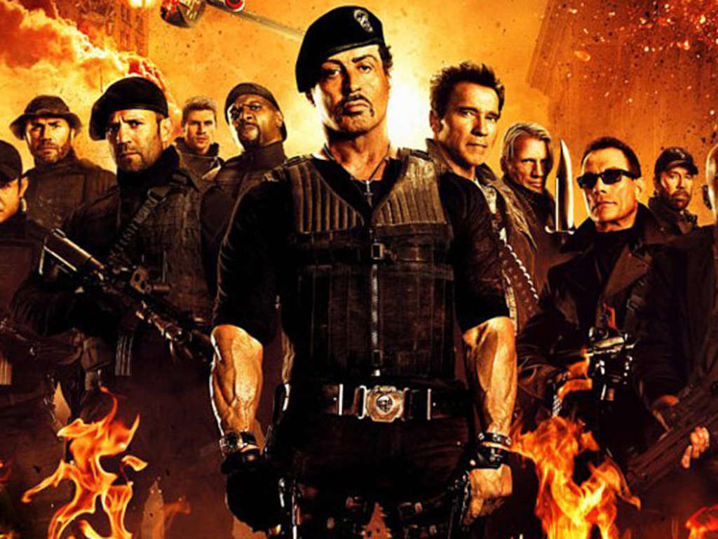 The Expendables team does what they need to do to get the job done