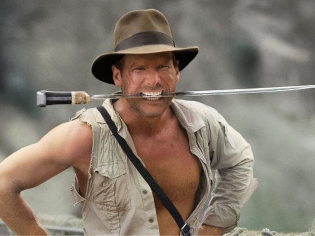 Indy with his iconic fedora