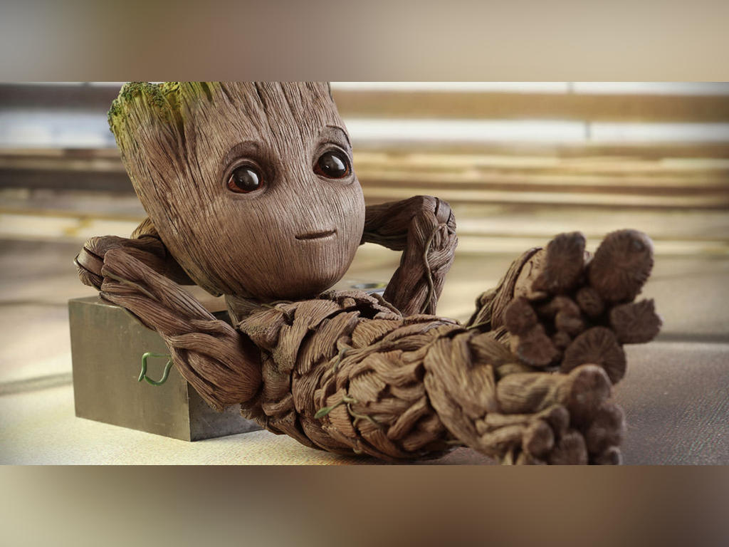 Baby Groot is absolutely adorable