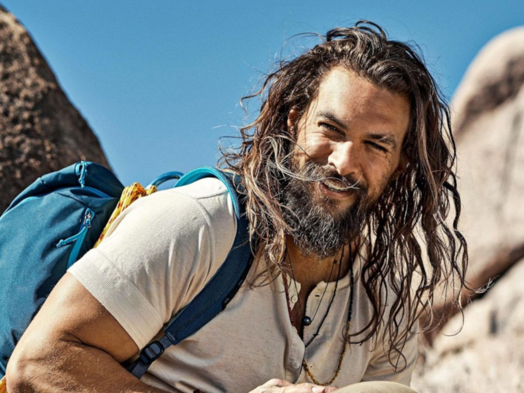 Many do not know that Jason Momoa is a not-too-bad climber himself