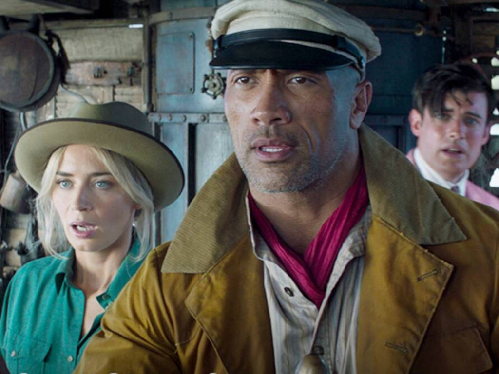 It won't be a leisurely cruise with Dwayne Johnson in the skipper's seat