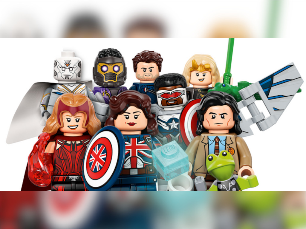 Fans are gonna go gaga over these Minifigures