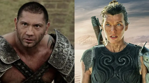 Jovovich and Bautista to work together in the new movie.