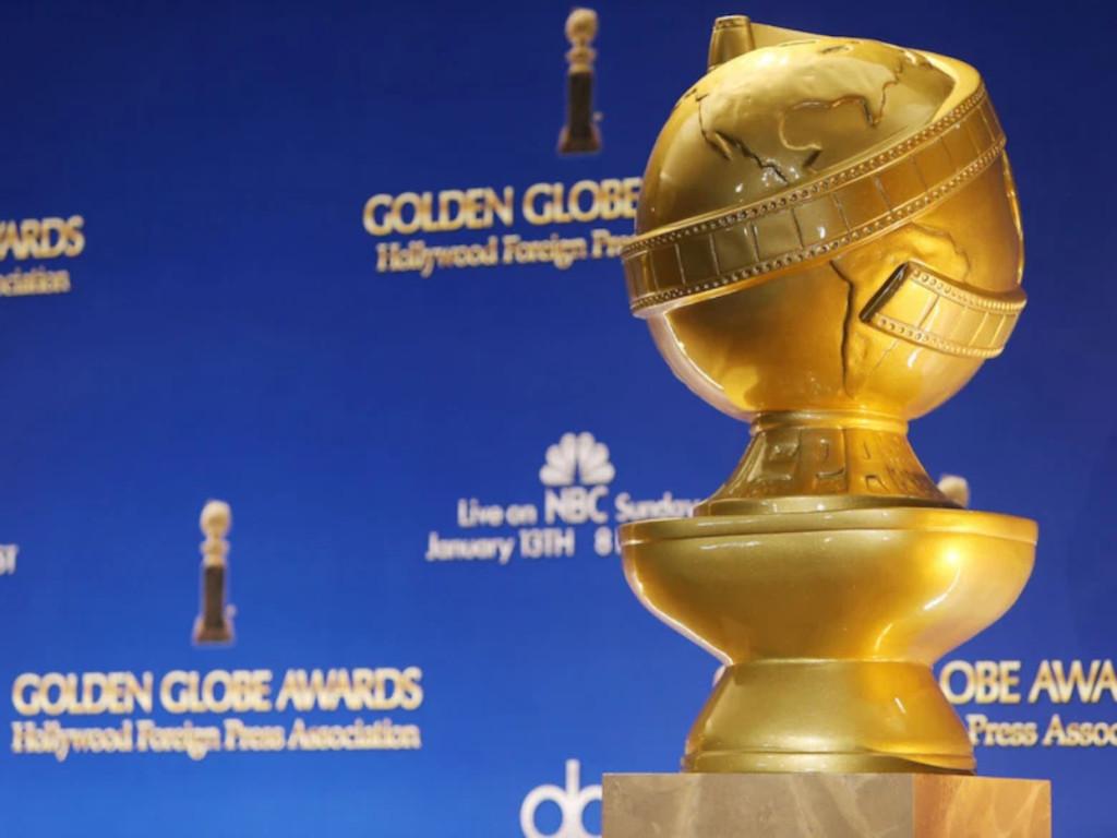 The Golden Globe trophy
