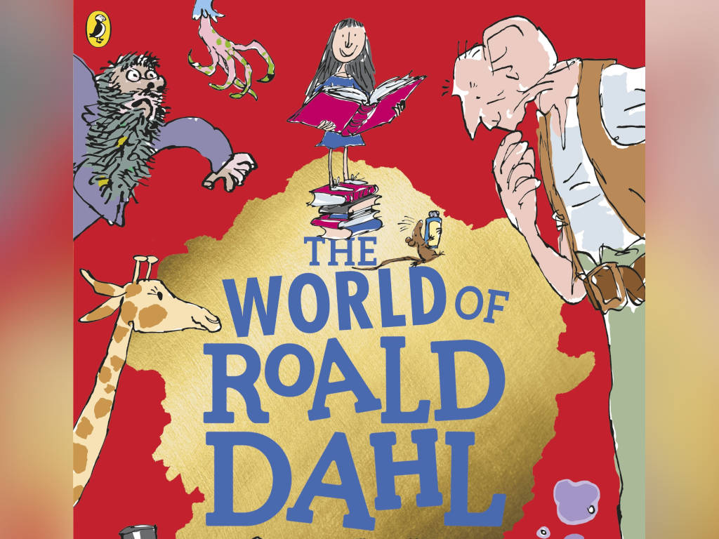 Step into the magical world of Roald Dahl