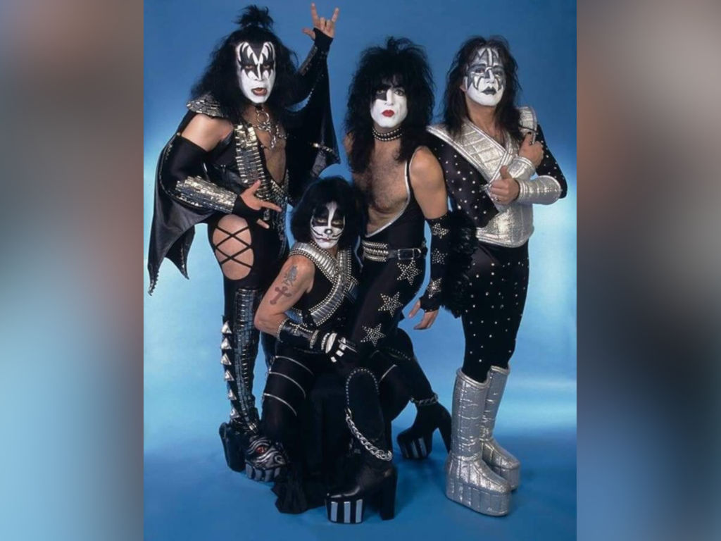 KISS is famous for their elaborate concerts and equally elaborate costumes and make up