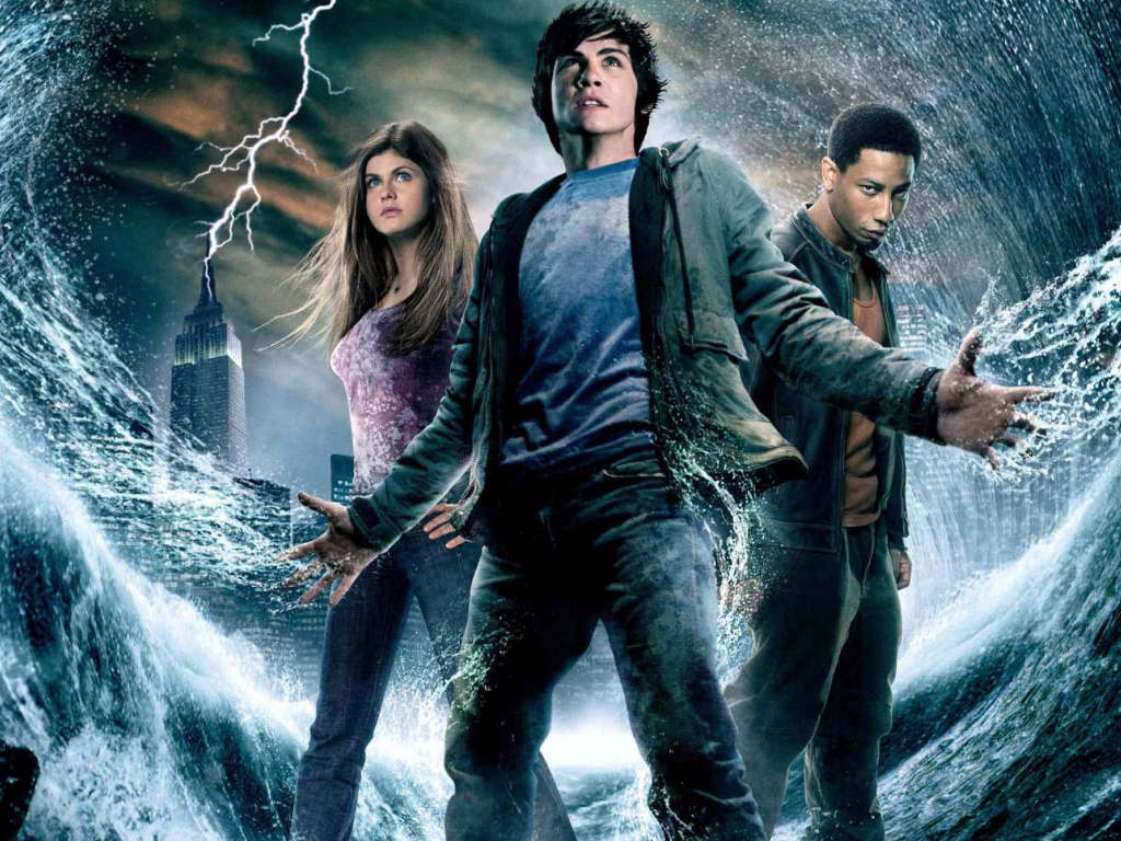 There were only two movie adaptations from the Percy Jackson 5-book series
