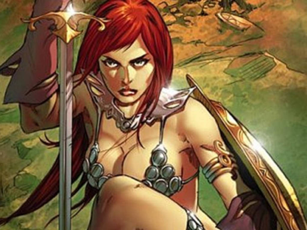 """Red Sonja started as a character in """"Conan the Barbarian"""" in the 1970s"""