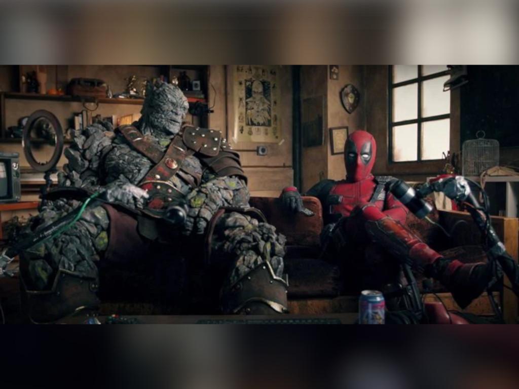 The banter between Deadpool and Korg is so Ryan Reynolds