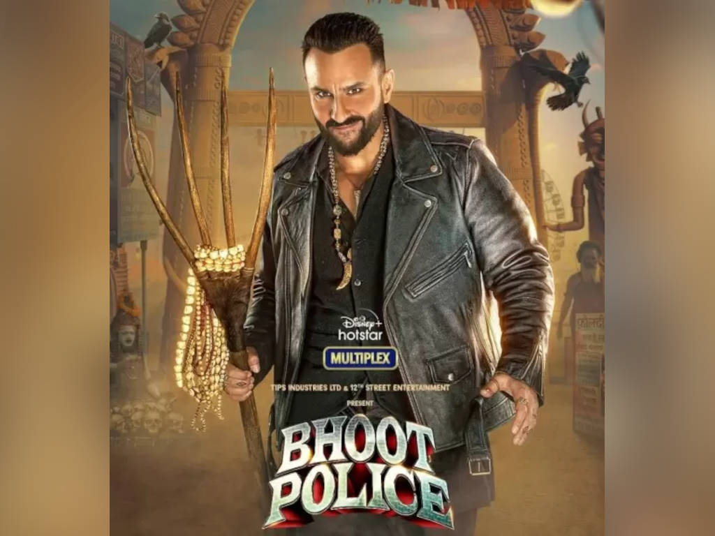 """Saif Ali Khan plays a ghosthunter in the horror-comedy """"Bhoot Police"""""""