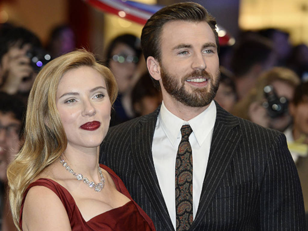 How cool that Captain America and Black Widow to be in a romance movie
