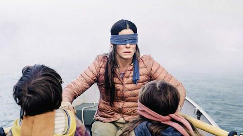 "Sandra Bullock in ""Bird Box"""