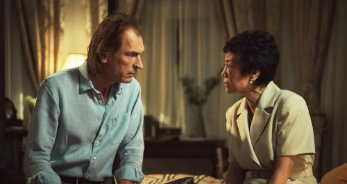 Lead Julian Sands and Sylvia Chang star as Frederick and the older Yun Lin.