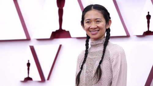 Chloe Zhao is only the second woman to win Best Director in Oscar history